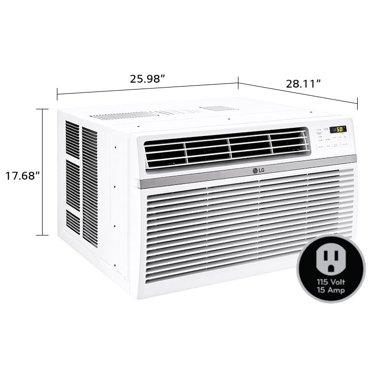 Lg 15 000 Btu 115 Volt Window Air Conditioner