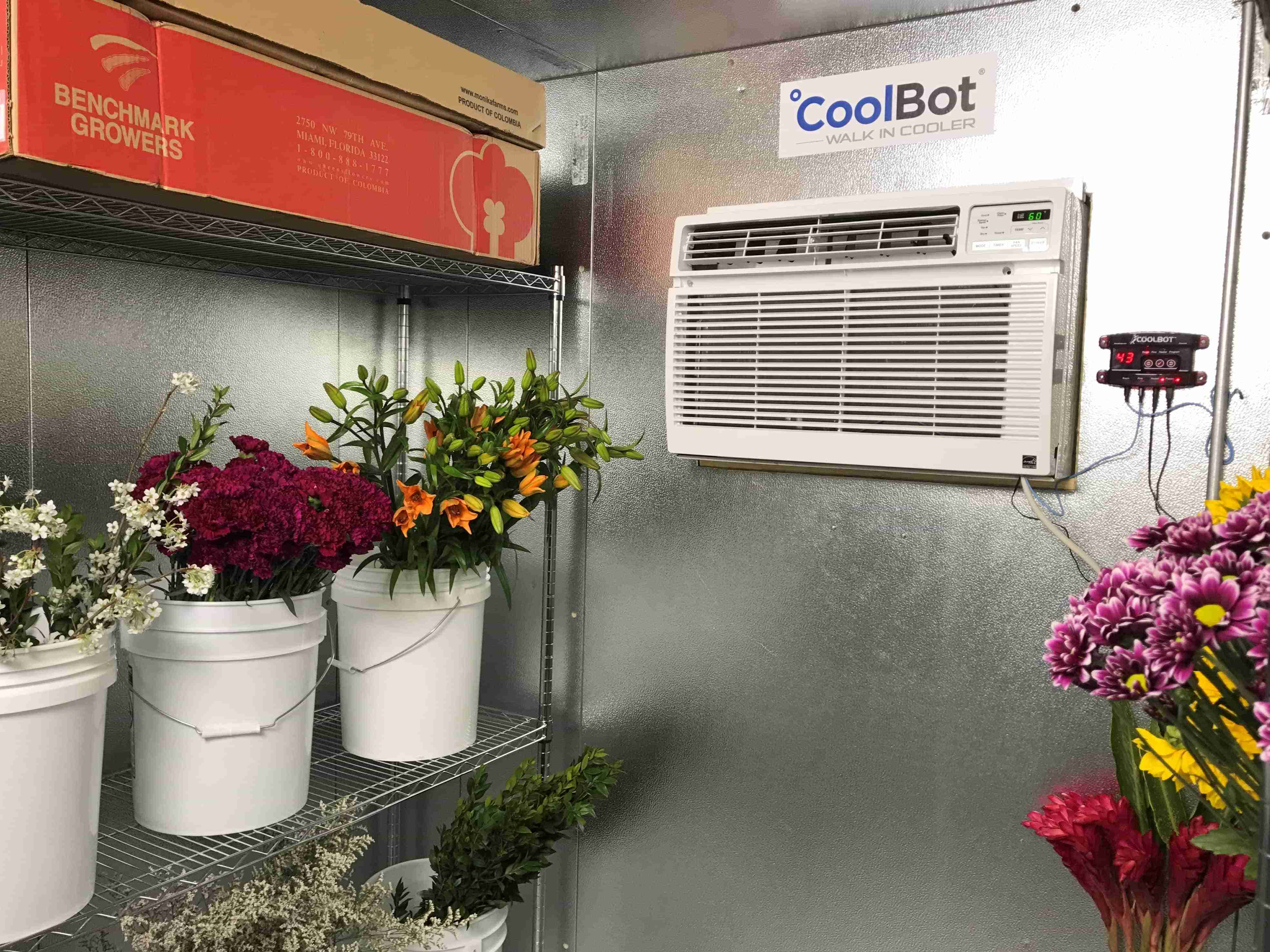 Floral Walk-In Coolers   The CoolBot by